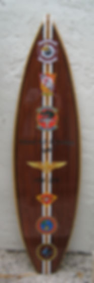 Military Patch Surfboard