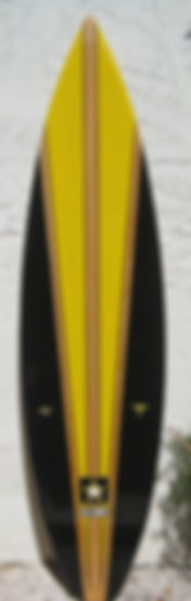 Custom Army Surfboard
