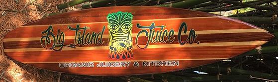 Custom Surfboard for Big Island Juice