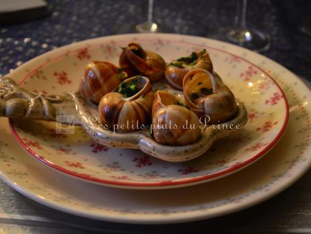 Escargots en beurre aillé, dits à la Bourguignonne