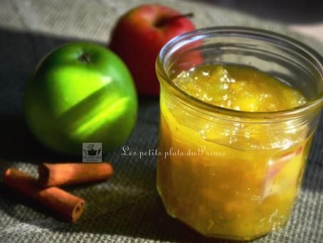 Confiture de pommes façon Tatin