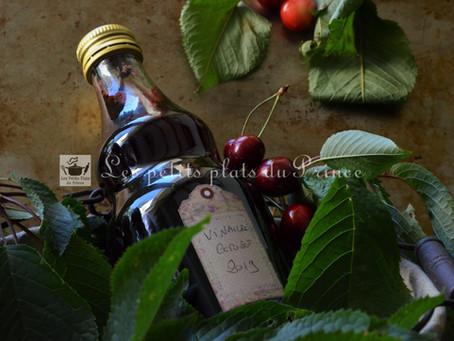 Vinaigre à la cerise fait maison