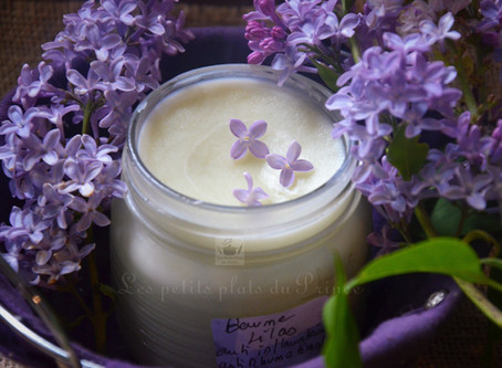 Baume au lilas (anti-inflammatoire, anti-rhumatismal)