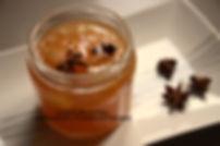 Confiture de poire, à la badiane et à l'Armagnac