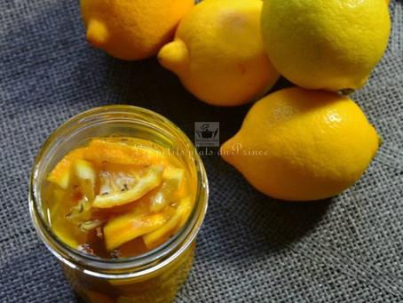 Sirop de citron, miel et gingembre, pour les petits maux de l'hiver