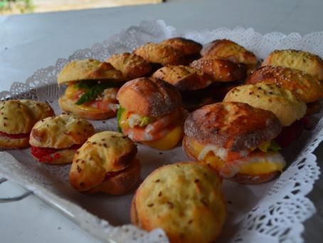 Navettes garnies, les petits sandwichs pour buffet apéritif