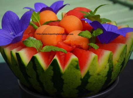 Salade 2 melons au Floc de Gascogne