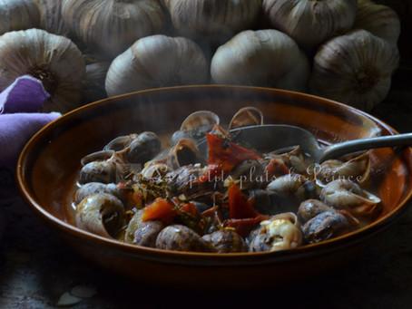 Escargots à l'oranaise