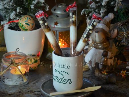Éprouvettes SOS chocolat chaud aux épices de Noël