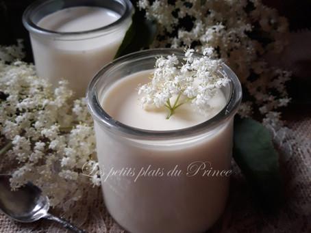 Yaourts aromatisés à la fleur de sureau