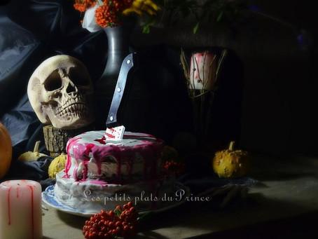 Gâteau effrayant d'Halloween