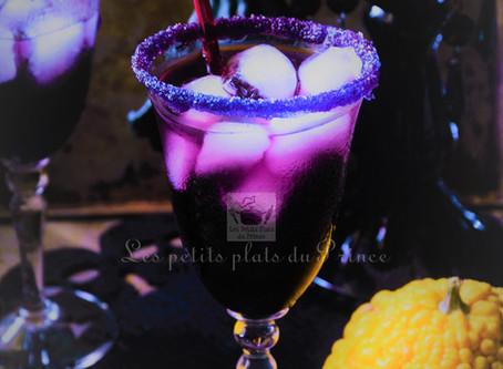 Cocktail Halloween - Purple vodka
