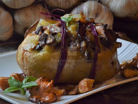 Pommes de terre farcies forestières
