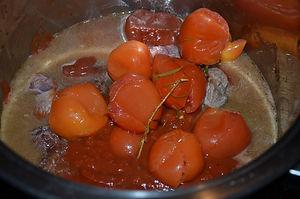 Mijoté de paleron à la sauce tomate
