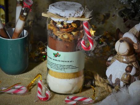 Kit SOS Brownies en bocal pour panier gourmand