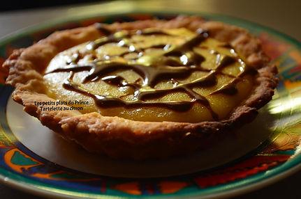 Tartelette au citron