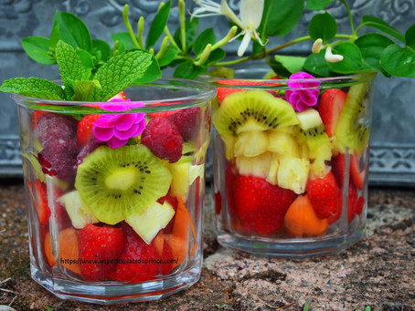 Salade jar, la salade de fruits se met aussi en bocal