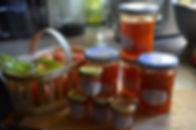 Confiture abricot et tilleul  fait maison