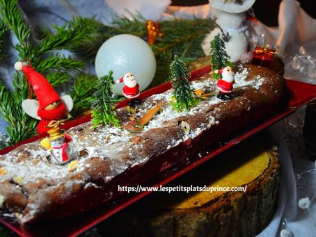 Brownie de Noël aux noisettes caramélisées