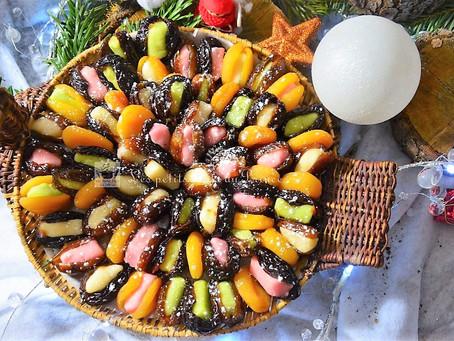 Fruits déguisés pour Noël