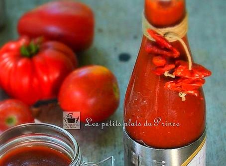 Hot ketchup fait maison