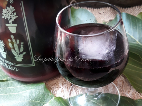 Recette du vin apéritif aux noix vertes