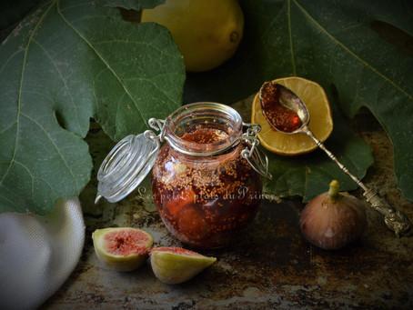 Confiture figue et citron