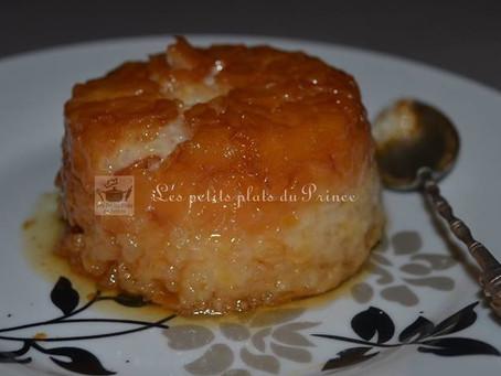 Gâteau de riz au lait au caramel façon Grand-mère