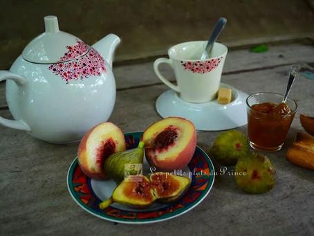 Confiture figue et nectarine
