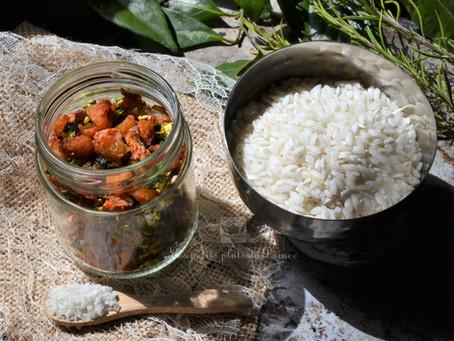 Préparation déshydratée aux crevettes pour risotto