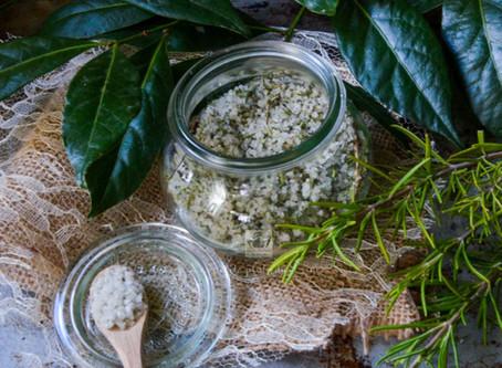 Préparation de sel herbes du soleil
