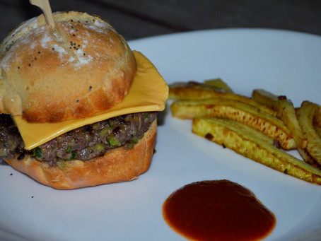Hamburger cache cache