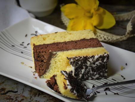 Gâteau napolitain fait maison