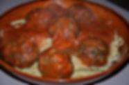 Boulettes de boeuf en sauce tomate