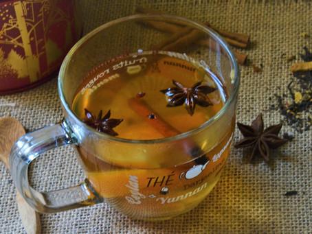 Thé réconfortant aux épices de Noël