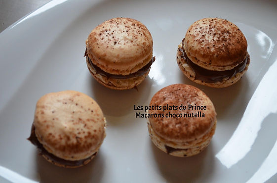 Macarons choco nutella