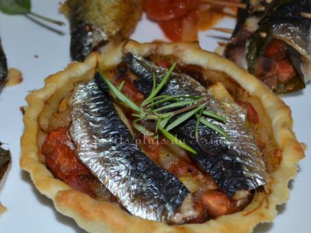 Tartelettes aux sardines