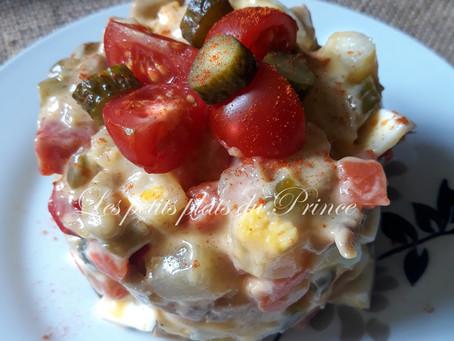 Salade Stolichny, Salade Olivier : les salades russes