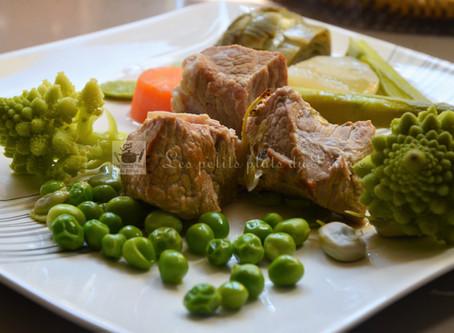 Sauté de veau aux petits légumes du printemps