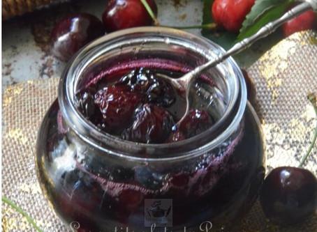Confiture de cerises noires du jardin, la recette simple de Grand-mère