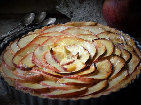 Tarte aux pommes gourmande de Manou