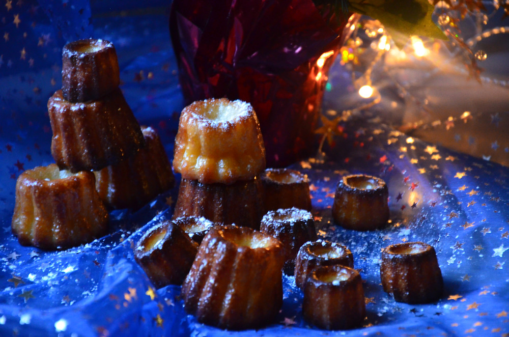 Cannelés de Noël aux épices