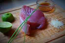 Tartare de thon rouge  frais