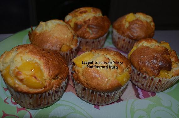 Muffins tutti frutti