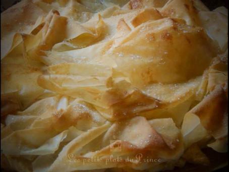 Croustade (pastis gascon) aux pommes et à l'armagnac