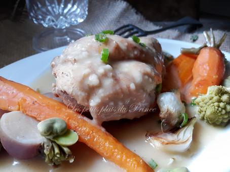 Blanquette de lapin aux légumes primeurs