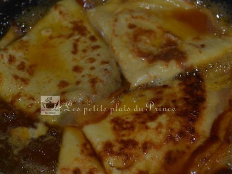 La crêpe Suzette, la recette facile