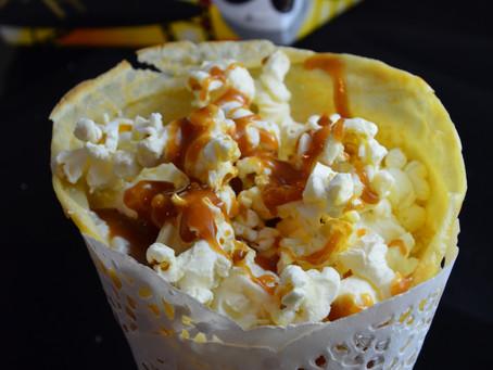 Crèpes cinéma chantilly Pop Corn