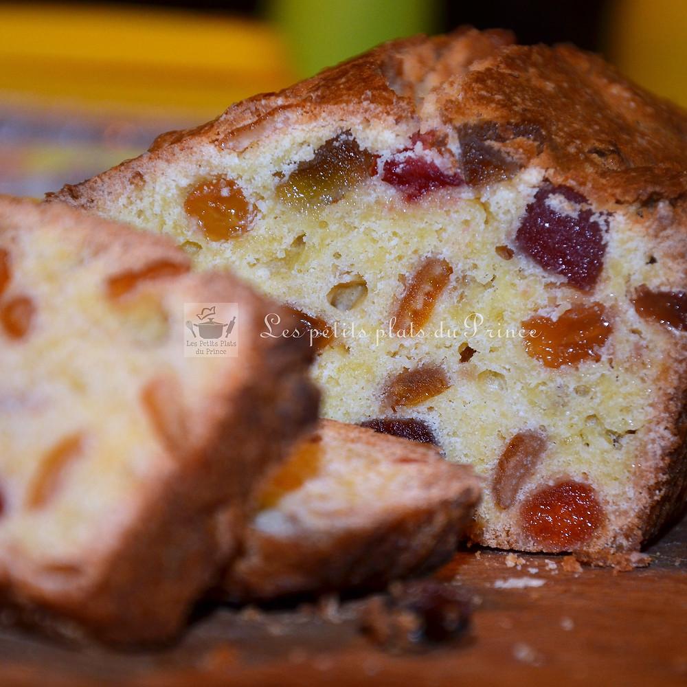 Cake royal aux fruits confits