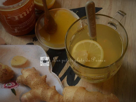 Ginger detox water : l'infusion healty au gingembre, miel et citron